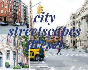 City Streetscapes Preset // Lightroom Presets // Light & Moody Presets / XMP