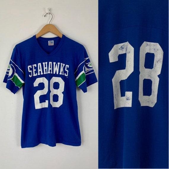 Vintage 80s Seattle Seahawks Tshirt // 1980s Seaha