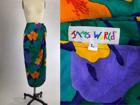 Vintage 70s Jams World Skirt // 1970s Jams World W