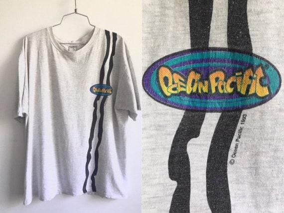 Vintage 90s Ocean Pacific Tshirt // 1994 OP Tshirt