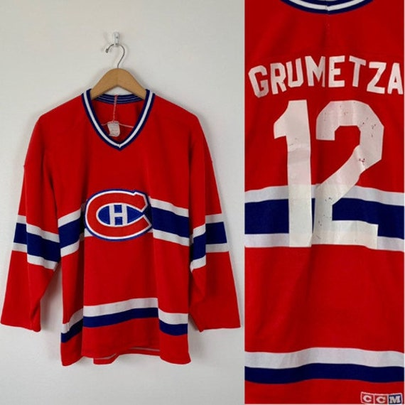 Vintage 80s Montreal Canadiens Jersey // 1980s Hab