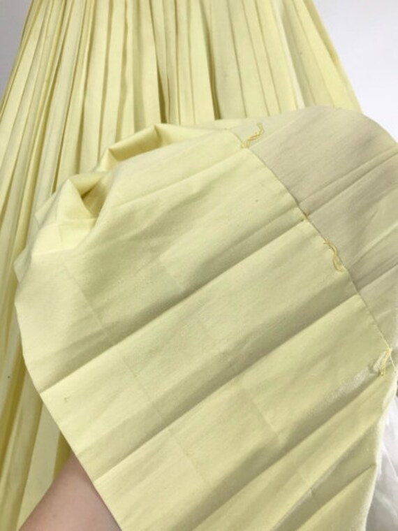 Vintage 1950s Shirtwaist Dress // 50s Cotton Day … - image 9