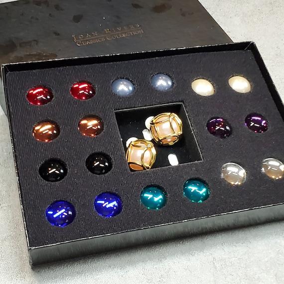 Vintage Joan Rivers jewelry interchangeable clip-o
