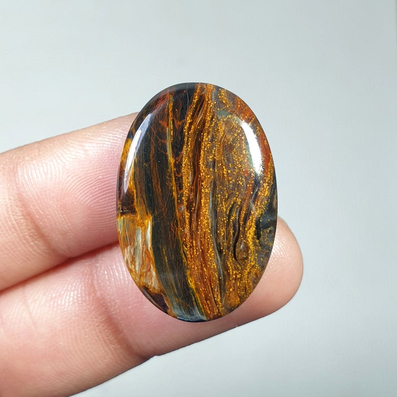 Stunning Top Grade Quality 100/% Natural Pietersite Oval Shape Cabochon Loose Gemstone For Making Jewelry