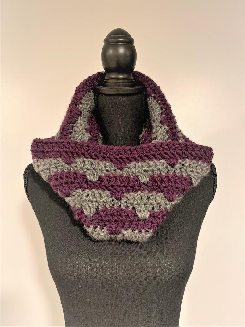 Autumn Love Cowl Crochet PATTERN image 0