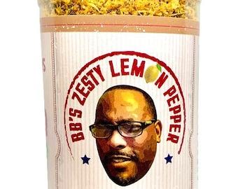 BBs Zesty Lemon Pepper Season All
