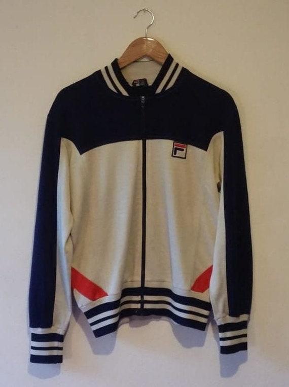 Fila Tiebreaker Tracksuit Jacket 1980s