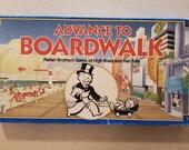 Advance to Boardwalk - 1985 - Vintage Parker Brothers - Item 0014