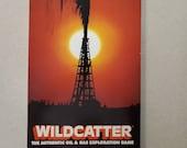 1981 Wildcatter Game - Ken R. Kessler - Vintage Board Game