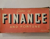 1936 Finance and Fortune Game - Vintage Board Game