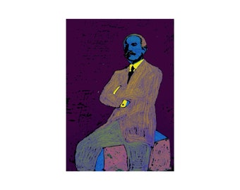 Leon Bakst - Remix - 2020 - Limited Edition 1-25 - Signed and Dated - By Kat Evans.