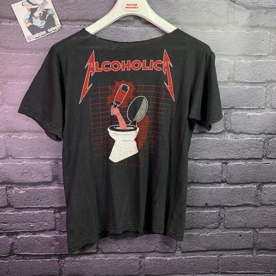 Alcoholica Metallica vintage shirt