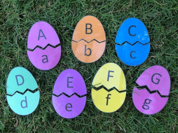 Easter Egg Alphabet Match