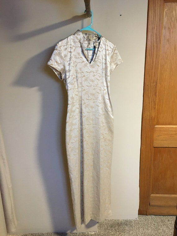 1960s Harlow Cheongsam Dress