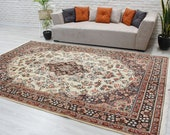 6 39 11 quot x 10 39 6 quot Oversize Luxury Area rug, Amazing High Quality Rug , Living Room Rug 00020356