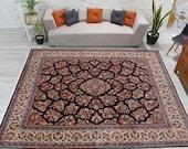 8 39 6 quot x 10 39 Original Soft Pile Demirici Floral rug, Antique Living Room Rug , Luxury mid century Turkey rug , 00020917