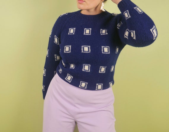 Vintage 60s Italian wool sweater