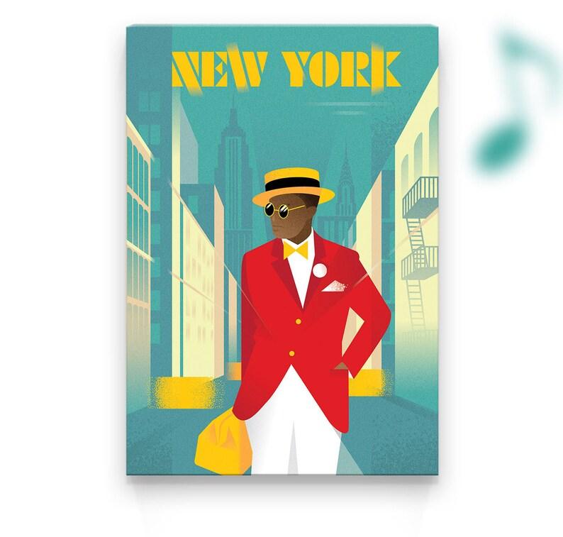 Canvas Print  New York  Dandy  20x30x1.2 in image 0