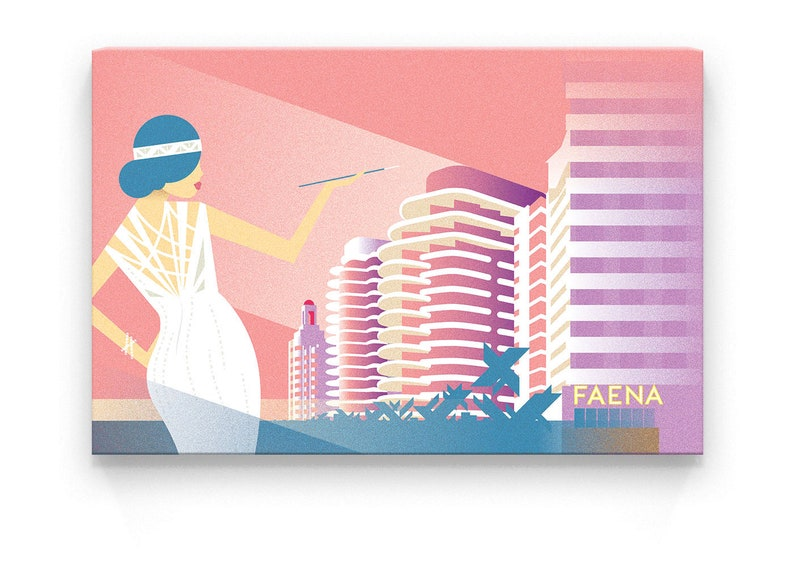 Canvas Print  Faena  30x20x1.2 in image 0