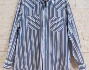 Ely Cattleman Long Sleeve Mens Black Lurex Snap Western Shirt,Black,Large