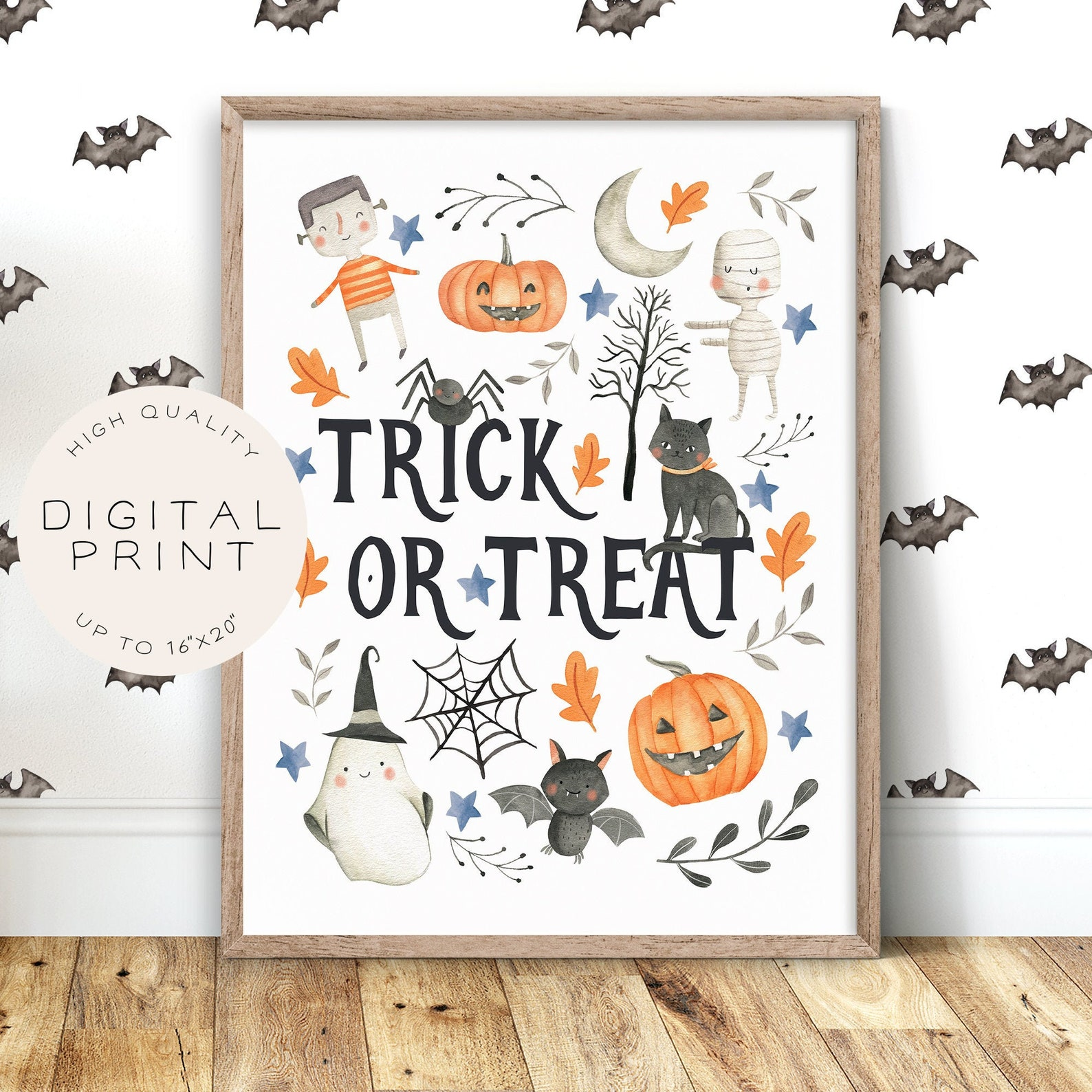 Halloween Poster Home Decor