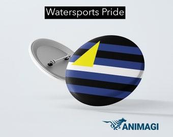 Watersports Pride Badge (32mm)