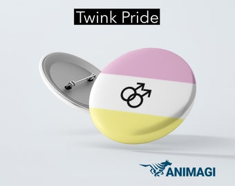 Twink Pride Badge (32mm)