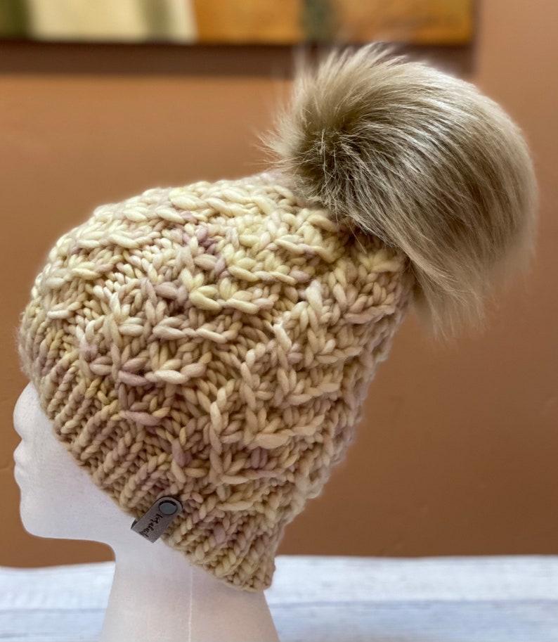 Merino Wool Knit Beanie