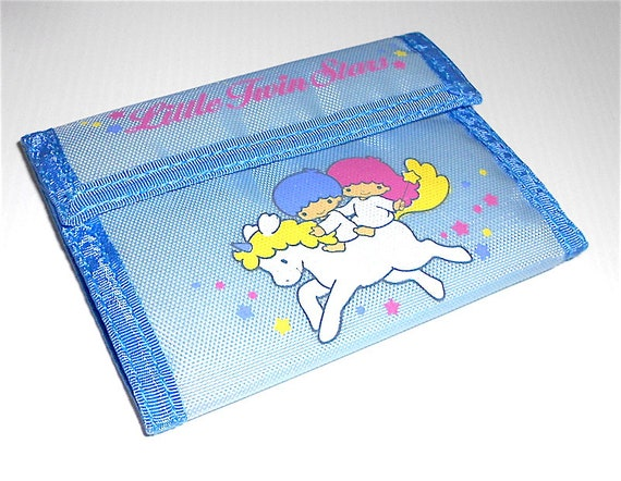 LITTLE TWIN STARS 1986 Sanrio Japan money wallet n