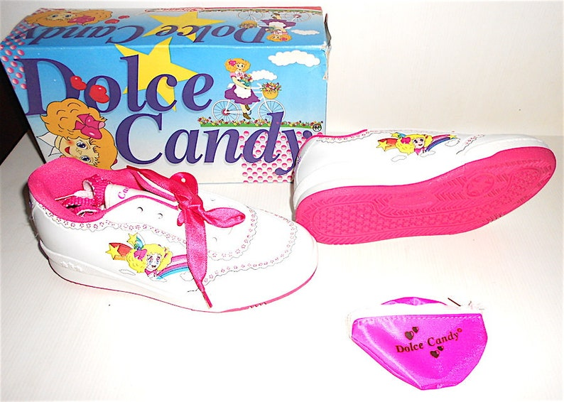 tennis shoes Kyandi 90s Igarashi Toei Silvana italy sport shoes broderies CANDY CANDY Dolce Candy free in box no.34 gadgets