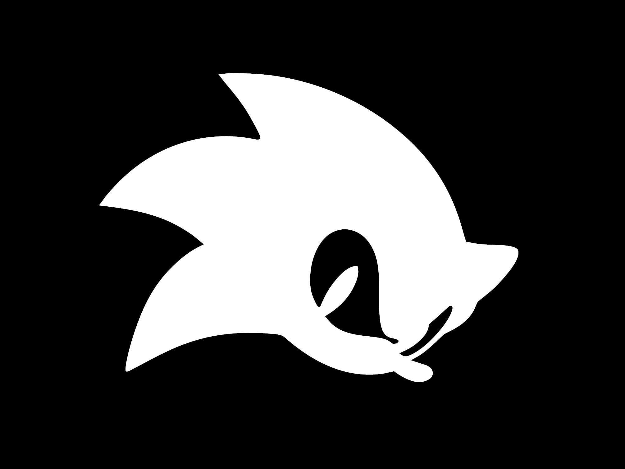 Sonic The Hedgehog Vinyl Decal Etsy
