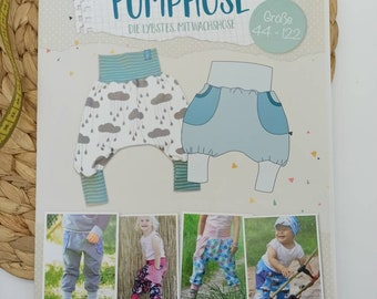 Sewing patterns and instructions of Lybstes. Pump pants - the co-wax pants - sizes 44-122