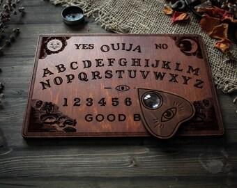 Ouija board classic spirit board Ouija planchette , wooden ouija board
