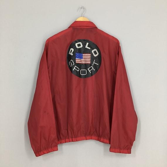 Polo Sport Ralph Lauren Windbreaker Jacket Small V