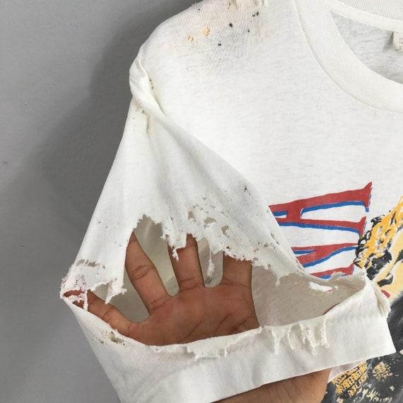 Vintage Distressed Madonna T shirt Large Pop Rock… - image 4