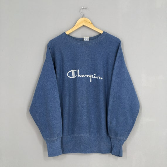 Vintage 80s Champion Reverse Weave Usa Sweater Med