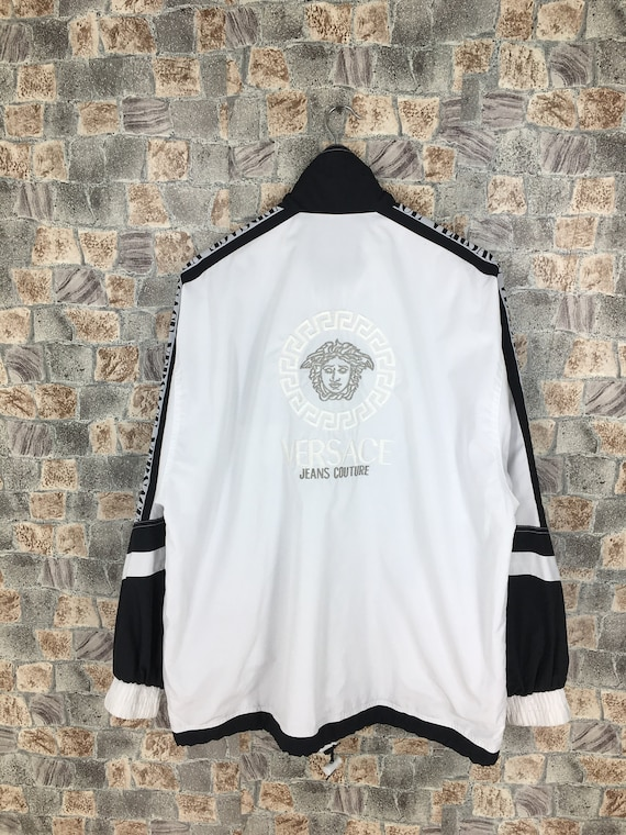 Vintage Versace Jeans Couture Jacket White Large 9