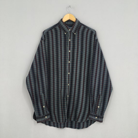 Vintage Polo Ralph Lauren Checkered Flannel Large