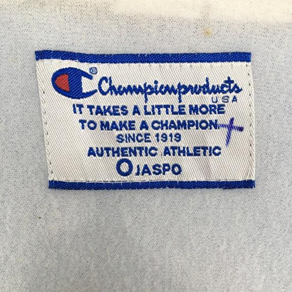 Vintage 90's Champion Windbreaker Jacket Xlarge C… - image 6