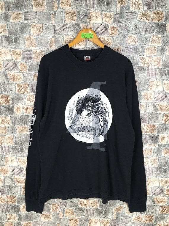 Vintage 90's Danzig Band Tshirt XLarge Mens Heavy