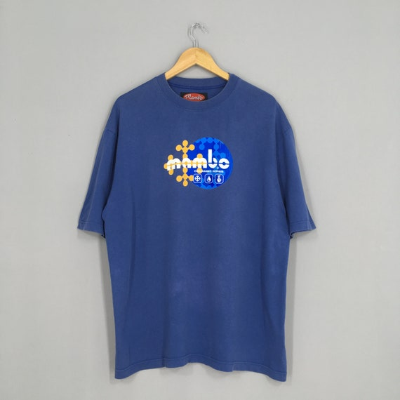 Vintage Mambo Australia Tshirt Blue Large Mambo Su