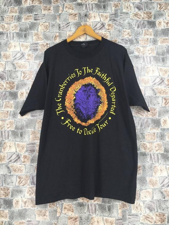 The Cranberries Black Band Rock Tees XLarge Vintag