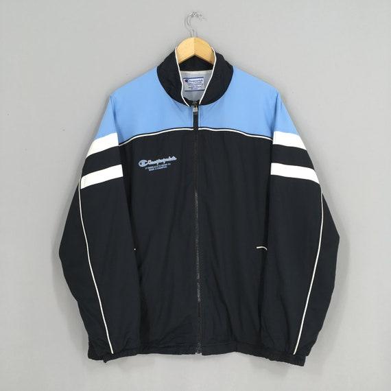 Vintage 90's Champion Windbreaker Jacket Xlarge C… - image 1
