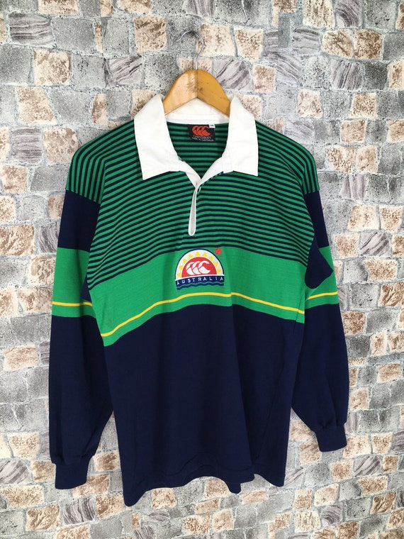 Canterbury Of New Zealand Rugby Green Polo Rugby S