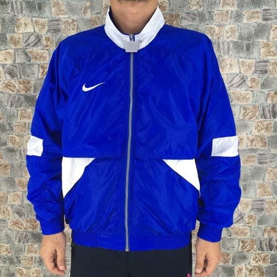 Nike Jacket Windbreaker Medium Vintage 90s Nike Sw