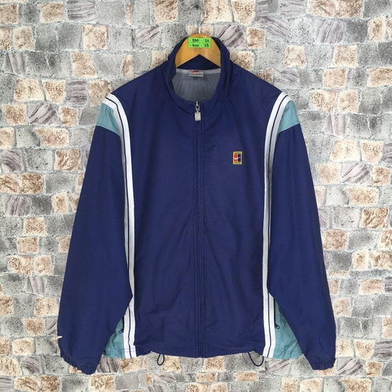 Vintage 90s Nike Agassi Jacket Windbreaker Large N