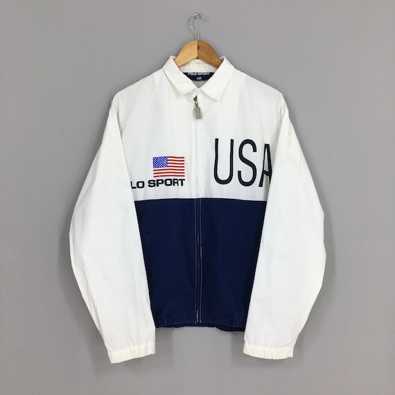 Vintage Polo Sport Ralph Lauren Jacket Medium Polo