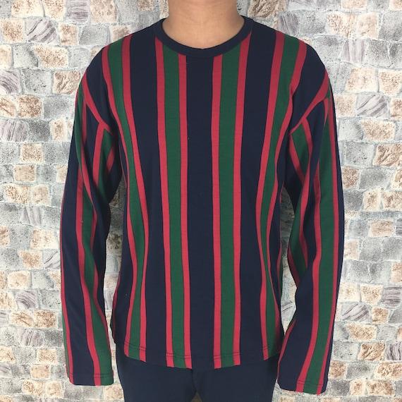Comme Des Garcons Longsleeve Stripes Tshirt Wool M