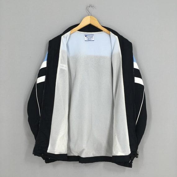 Vintage 90's Champion Windbreaker Jacket Xlarge C… - image 5