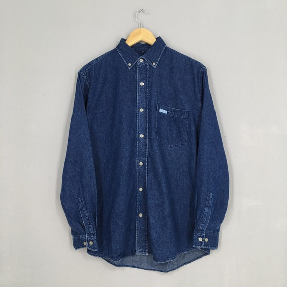Vintage Calvin Klein Jeans Denim Shirt Oxfords Sma
